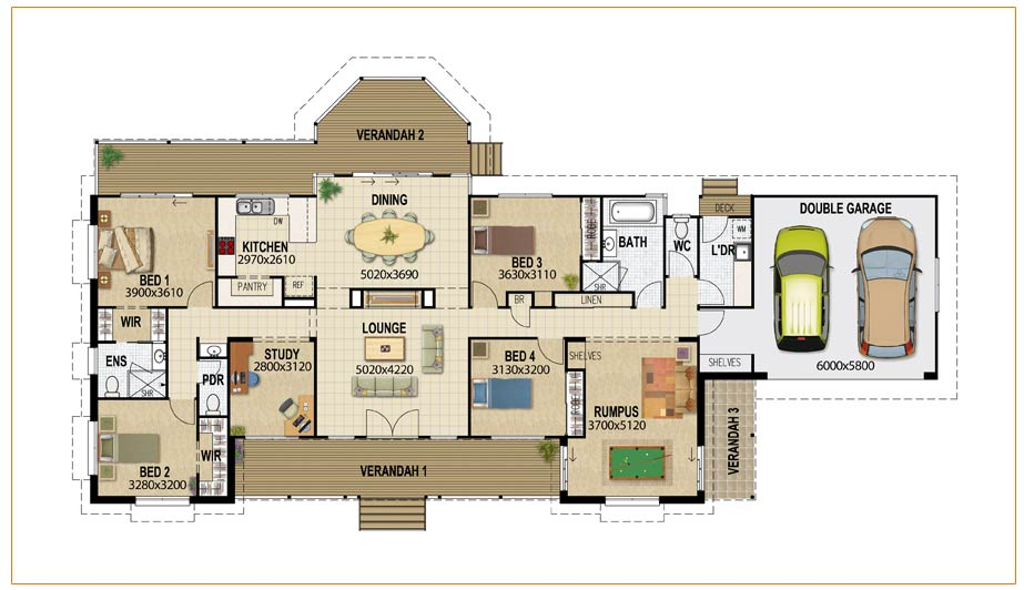House plans queensland building design drafting House layout design