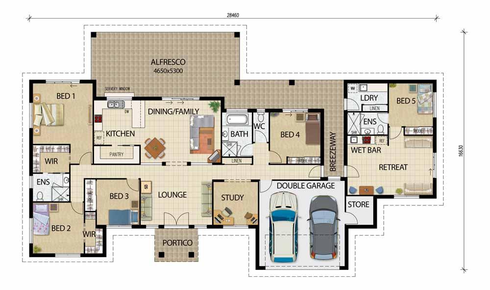 Pleasant Acreage Designs House Plans Queensland Largest Home Design Picture Inspirations Pitcheantrous