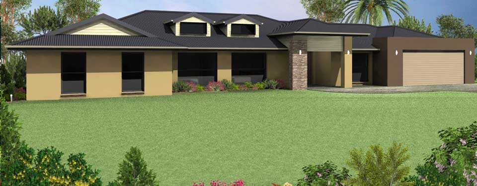 Acreage rural designs from house plans queensland for House designs for acreage