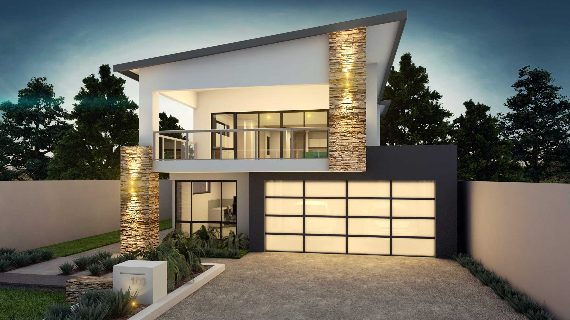 Highset House designed by House Plans Queensland